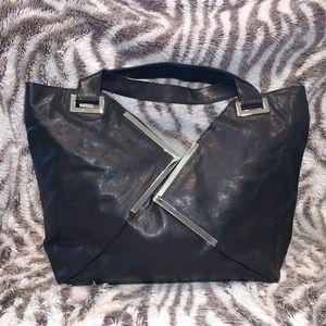 Kooba Rio Black Leather Tote